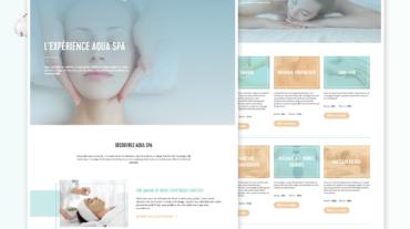 aqua-webpage